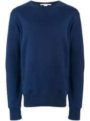 Stella Mccartney Printed Back Sweatshirt Blue
