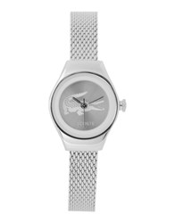 Lacoste Timepieces Wrist Watches Women Silver