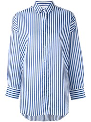 Iro Striped Boyfriend Shirt White