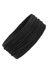 L. Erickson Relaxed Turban Headband Black