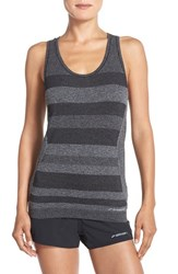 Women's Brooks 'Streaker' Seamless Racerback Tank Heather Black
