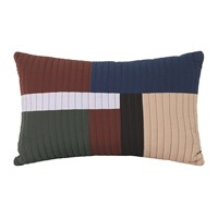 Ferm Living Shay Quilt Pillow Cinnamon Multi