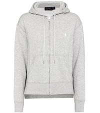 Polo Ralph Lauren Cotton Blend Hoodie Grey
