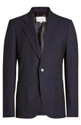 Maison Martin Margiela Cotton Blazer Blue