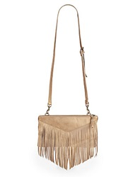 Liebeskind Carol Fringe Leather Crossbody Bag Spice