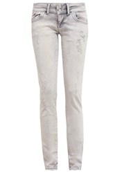 Ltb Molly Slim Fit Jeans Malissa Wash Bleached Denim