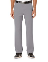 Callaway Flat Front Tech Pants Grey