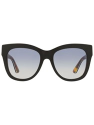 Dolce And Gabbana Square Frame Sunglasses Black