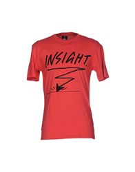 0051 Insight T Shirts Red