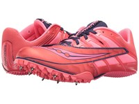 Saucony Spitfire 4 Pink Grey Women's Running Shoes