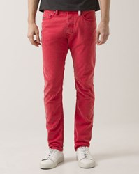 Diesel Red Tepphar Tapered Jeans
