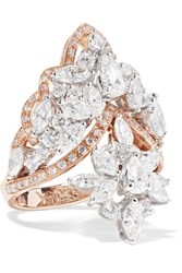 Yeprem 18 Karat Rose Gold Diamond Ring