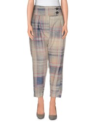 Vivienne Westwood Anglomania Trousers Casual Trousers Women Ivory