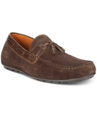 Tasso Elba Men's Gustavo Tassel Drivers Only At Macy's Men's Shoes Brown