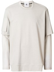 Lost And Found Rooms Double Sleeved T Shirt Cotton Nude Neutrals