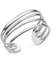 Nambe Multi Band Cuff Bracelet In Sterling Silver Only At Macy's