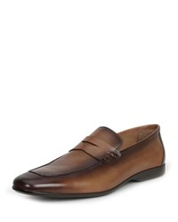 Bruno Magli Margot Leather Penny Loafers Cognac