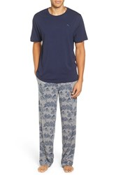 Tommy Bahama Men's Cotton Blend Pajama Set