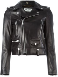 Saint Laurent Classic Biker Jacket Black