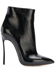 Casadei Classic Pointed Boots Black