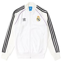 Adidas Real Madrid Track Top White