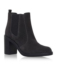 Kg By Kurt Geiger Sicily Suede Ankle Boots Female Grey