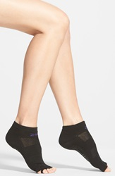 Zella 'Studio' Toeless Yoga Socks Black