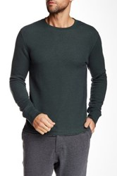 Relwen Thermal Crew Neck Sweater Green