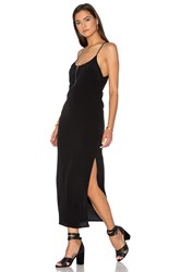 Blq Basiq Tank Midi Dress Black