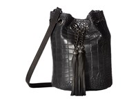 Leather Rock Hj95 Black Handbags