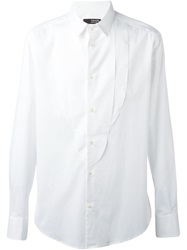 Tom Rebl Panelled Shirt White