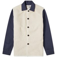 Portuguese Flannel Chemy Overshirt White