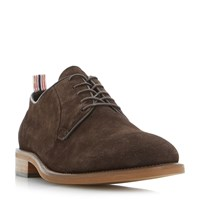 Bertie Pugg Deconstructed Lace Up Gibson Shoe Brown