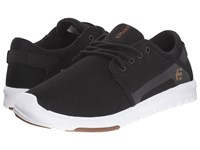 Etnies Scout W Black White Gum Women's Skate Shoes Multi