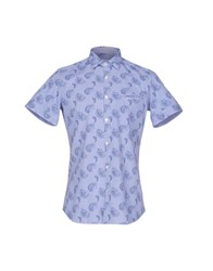 Caliban Shirts Blue
