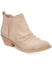 Report Drewe Ankle Booties Women's Shoes Taupe