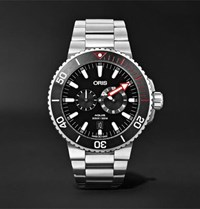 Oris Aquis Regulateur Der Meistertaucher Automatic 43.5Mm Titanium Watch Silver