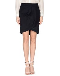 Compagnia Italiana Skirts Knee Length Skirts Women Dark Blue