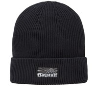 Flagstuff Box Logo Beanie Black