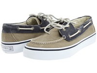 Sperry Bahama 2 Eye Navy Taupe Men's Slip On Shoes Blue
