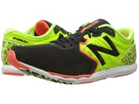 New Balance Hanzo S Lime Black Men's Running Shoes Green