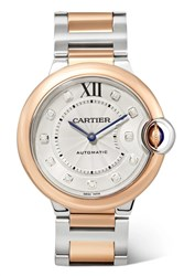 Cartier Ballon Bleu De 36Mm 18 Karat Rose Gold