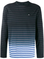 J. Lindeberg J.Lindeberg Charlie Long Sleeved T Shirt Blue