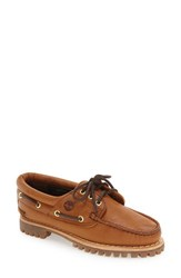 Timberland Women's 'Noreen' Boat Shoe Wheat Rumble Leather