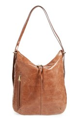 Hobo Merrin Leather Backpack Brown Cafe
