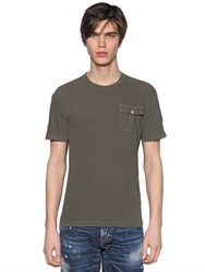 Dsquared Military Jersey T Shirt W Pocket