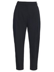 Balenciaga Tapered Leg Twill Trousers