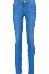 Karl Lagerfeld Kate Low Rise Skinny Jeans Blue