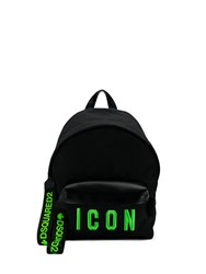 Dsquared2 Icon Backpack Black