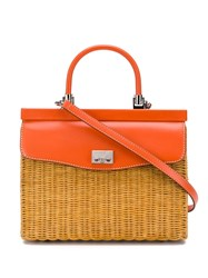 Rodo Medium Tote Bag Orange